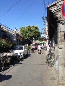 中国:北京の路地