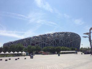 北京国家体育場 鳥の巣