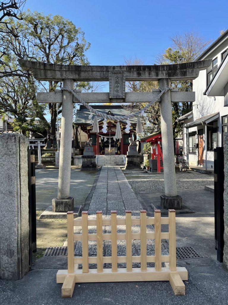 女塚神社鳥居